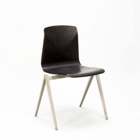 Indsutrial chair by Thur-op-seat grey base