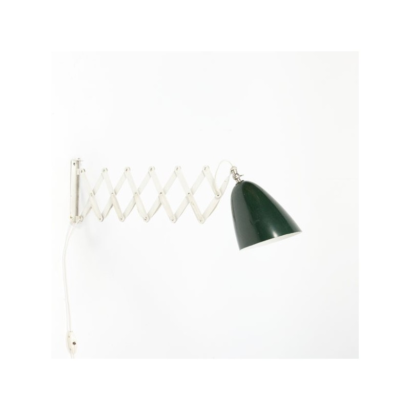 Wall lamp by Anvia with green lampshade