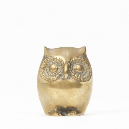 Brass owl