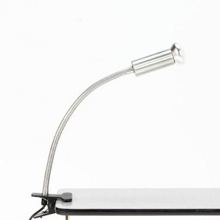 Clip lamp aluminium
