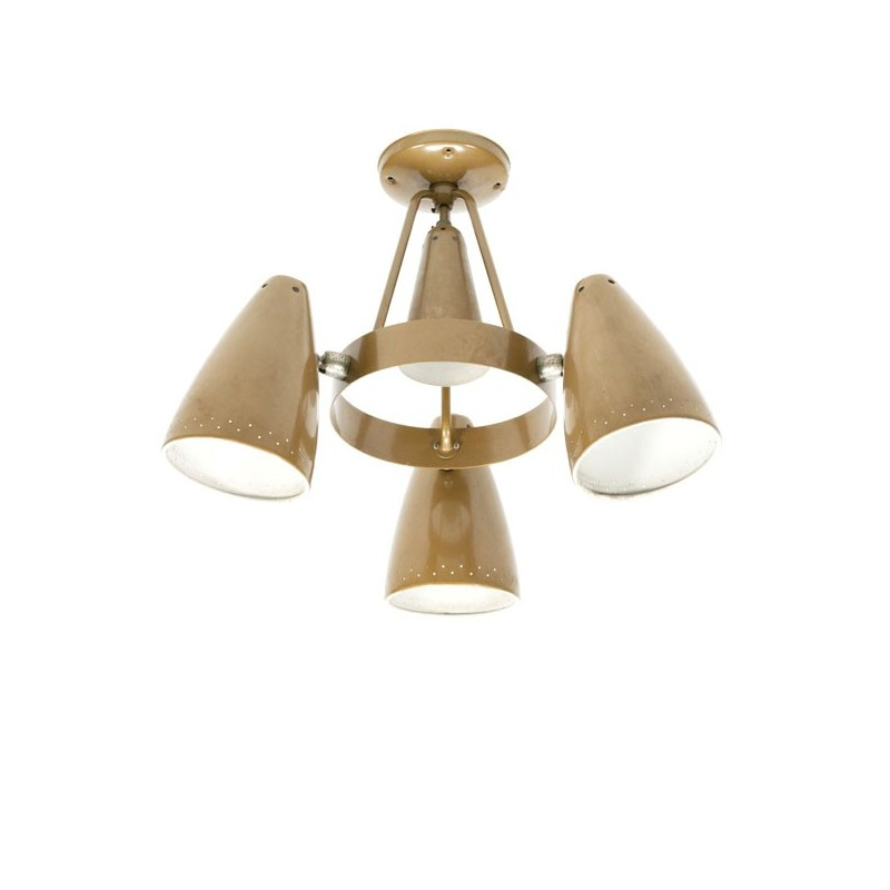 Industriele hanglamp Philips Louis Kalff
