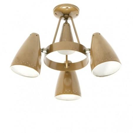Industriele hanglamp Philips Louis Kalff