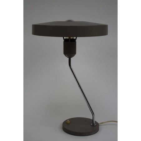 Philips table lamp L. Kalff grey