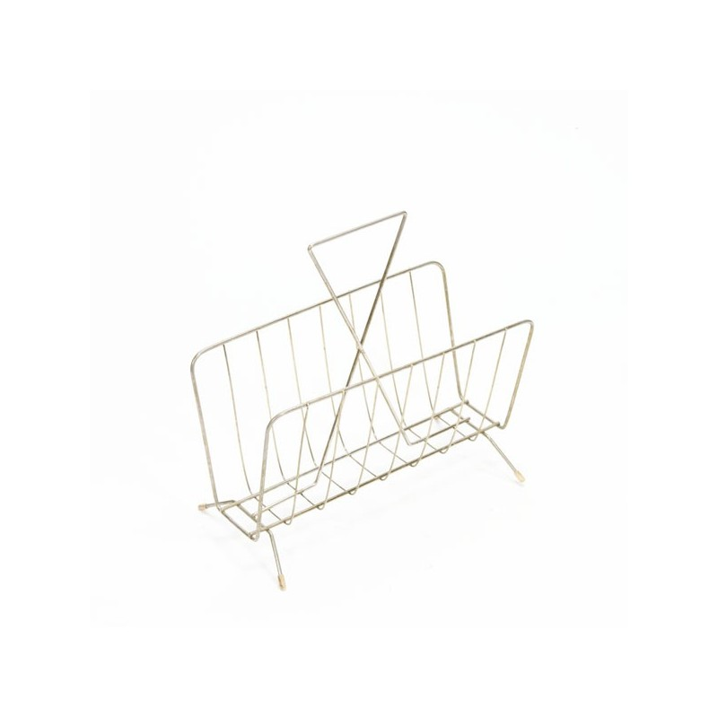 Magazine rack brass no. 3
