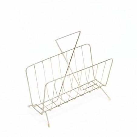 Magazine rack brass no. 3