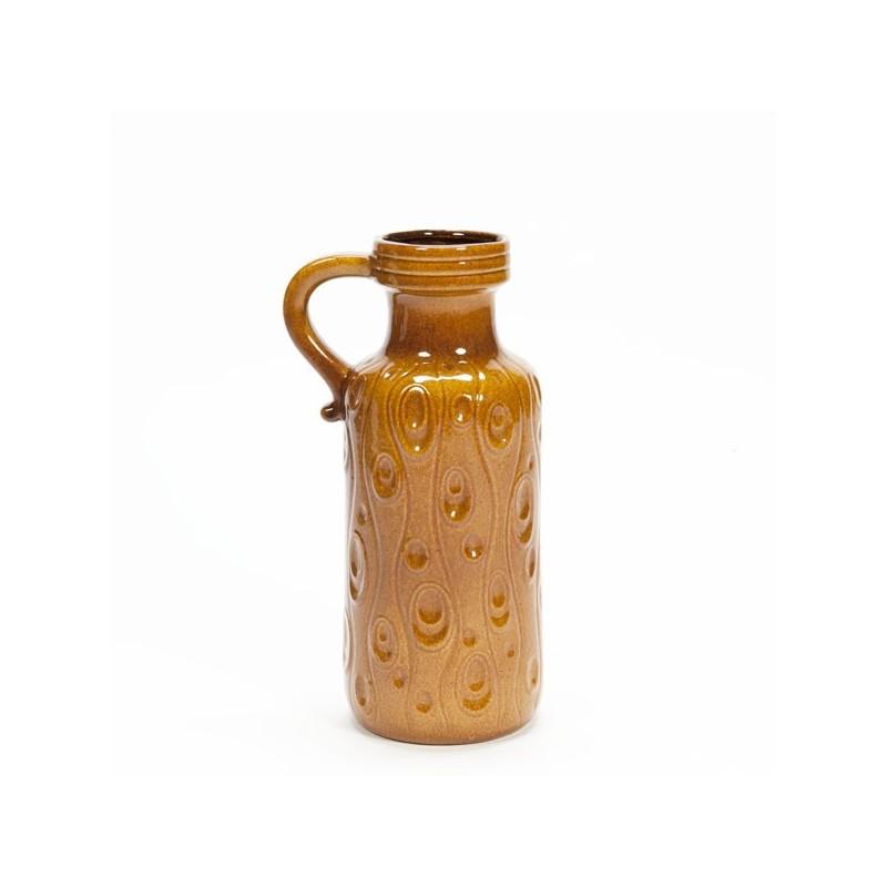 Large West Germany vase brown