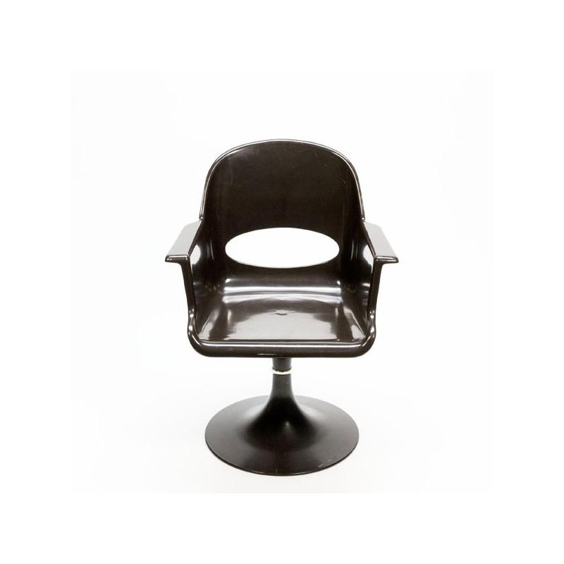 Plastic swivel chair 1970's