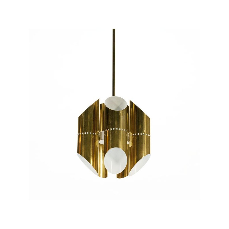 Brass colored pendant