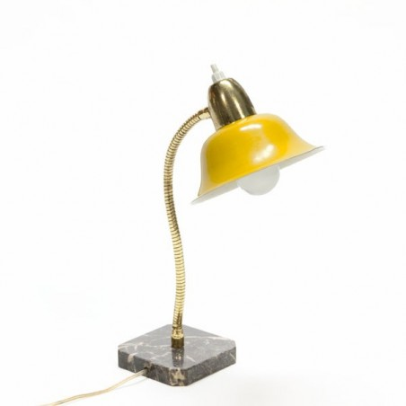Tafellamp met marmeren voet