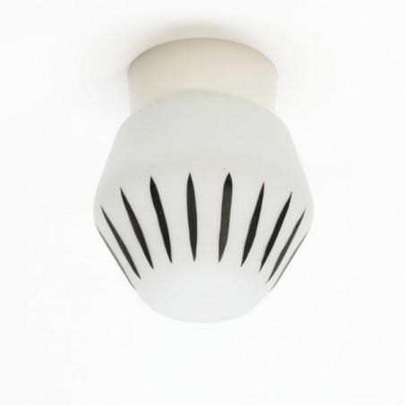 Vintage plafondlamp jaren 50