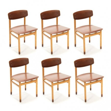 Set van 6 Kvetny & Sønners chairs