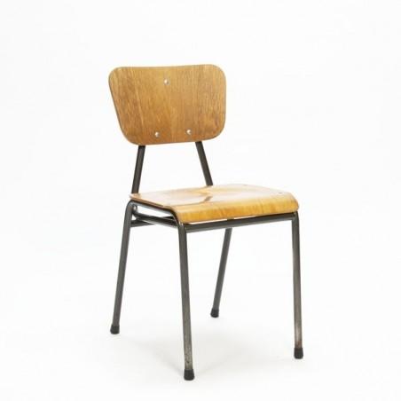 Industrial Danish child's schoolchair