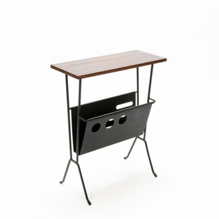 Side table with magazine rack 1960's