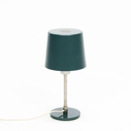 Groen metalen tafellamp