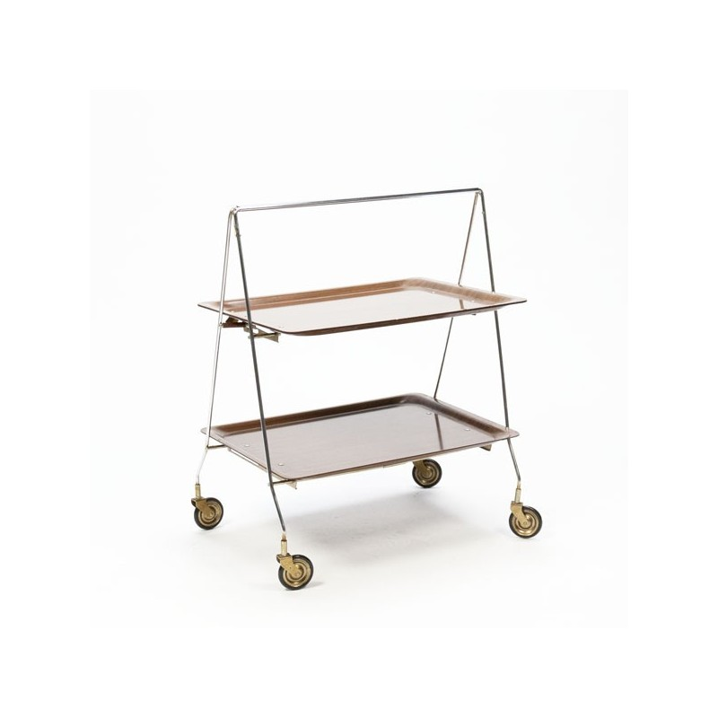 Serving trolley 1960's foldable