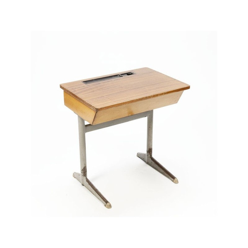 Industrial desk for children wood