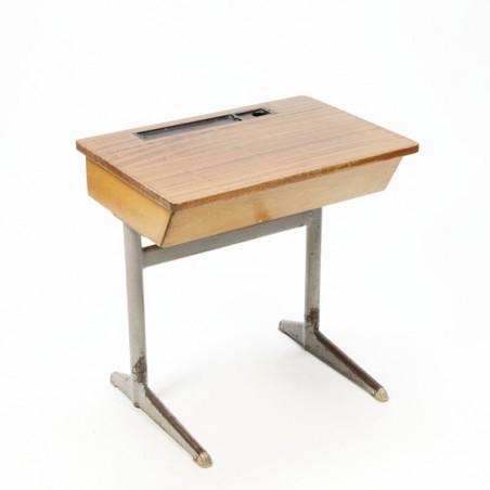 Industrial desk for children wood