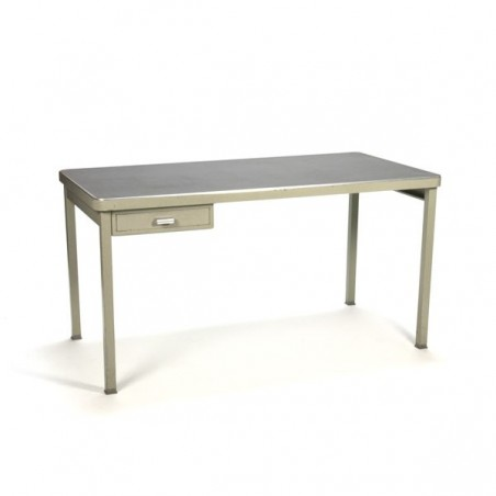 Industrial table with drawer by Lips