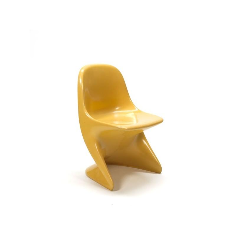 Casalino kinderstoeltje geel