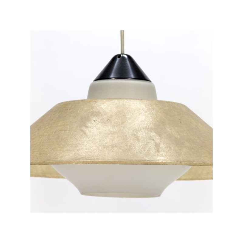 Hanging Lamp With Fiberglass Shade By Philips