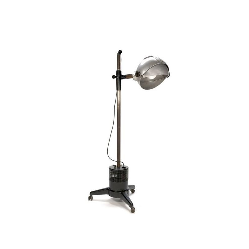 Large industrial floor lamp by Siemens