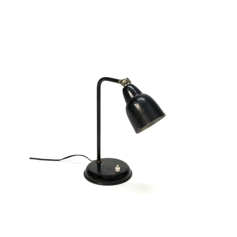 Kleine zwarte tafellamp