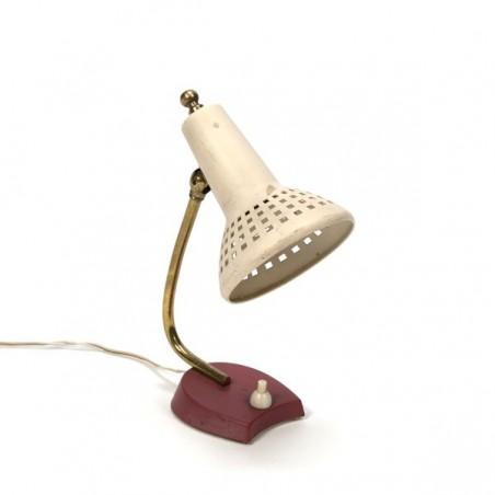Klein tafellampje met cr