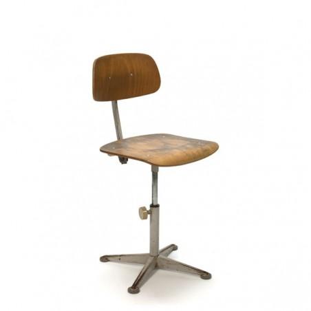 Friso Kramer tekentafel/ architectenstoel jaren 60
