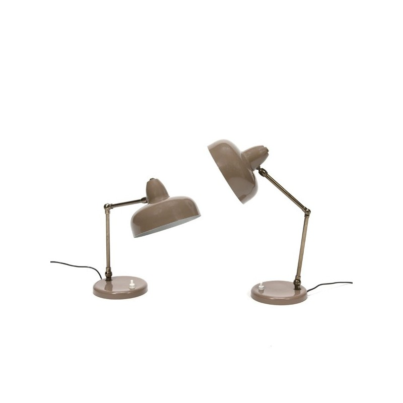 Set of 2 table-/ desk lamps
