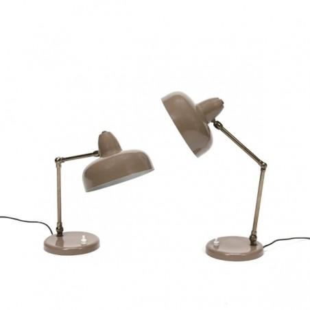 Set van 2 tafel-/ bureaulampen