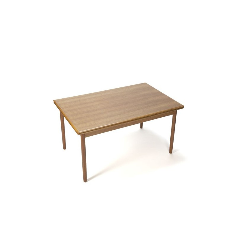 Danish design dinner table in teak vintage