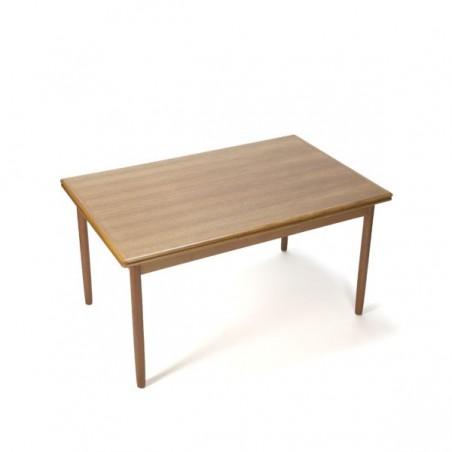 Danish design dinner table in teak vintage