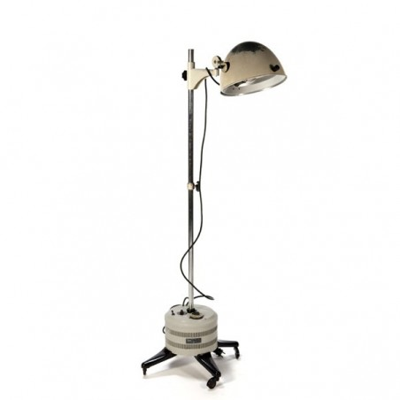 Industrial floor lamp by Hanau