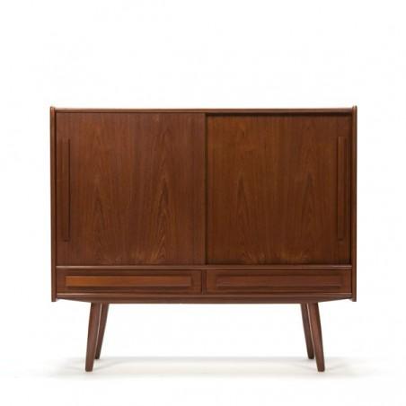 Deens design dressoir in teakhout