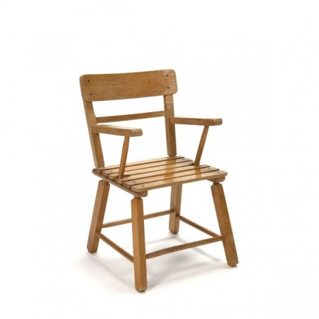 Wooden child's chair