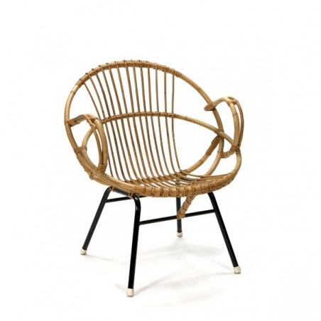 Bamboo easy chair small model