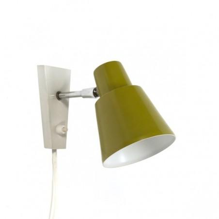 Groene wandlamp