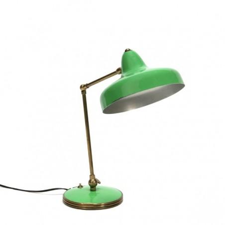 Tafellamp groen Italiaanse stijl