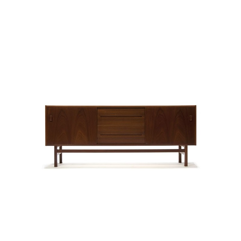 Low sideboard in teak by Nils Jonsson