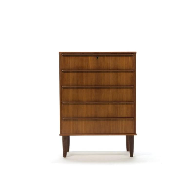 Chest of drawers in teak from Denmark