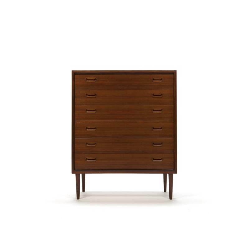 Large luxury chest of drawers in teak