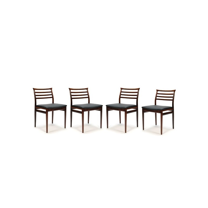 Erling Torvits set of 4 dining chairs
