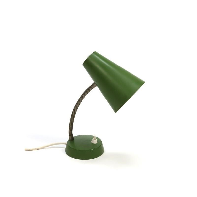 Tafellamp groene kap