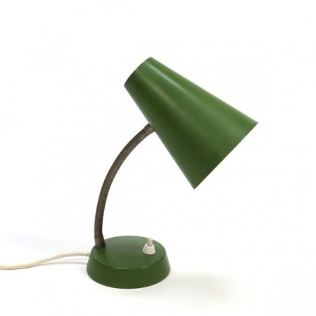 Table lamp green shade