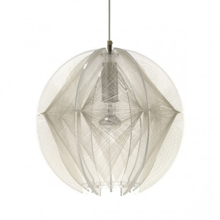 Plexiglass hanging lamp by Paul Secon