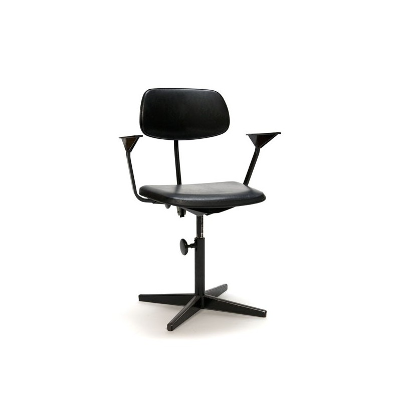 Friso Kramer drawing table/ architects chair black
