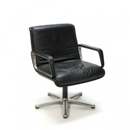 Lederen bureaustoel merk Wilkhahn