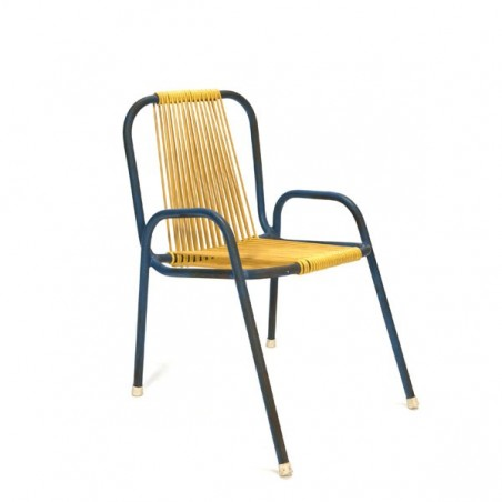 Yellow/ blue chair for children
