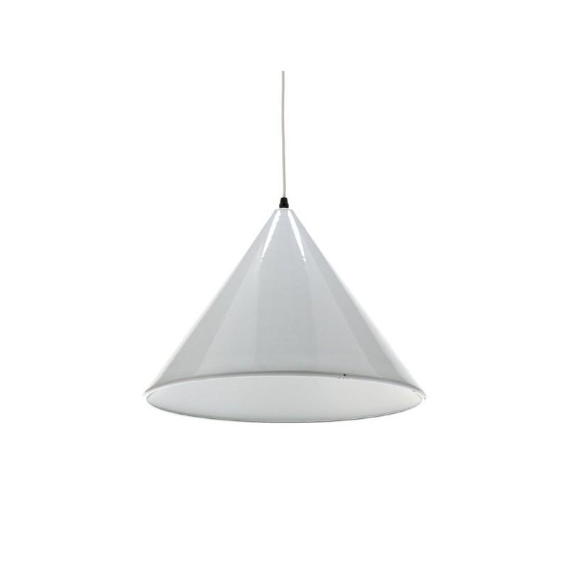 White hanging lamp enamel