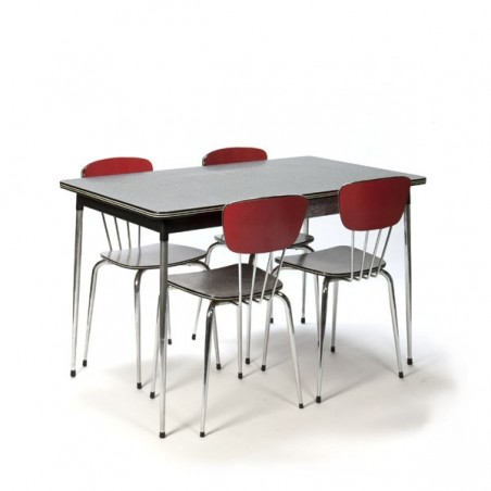 Dining set in formica
